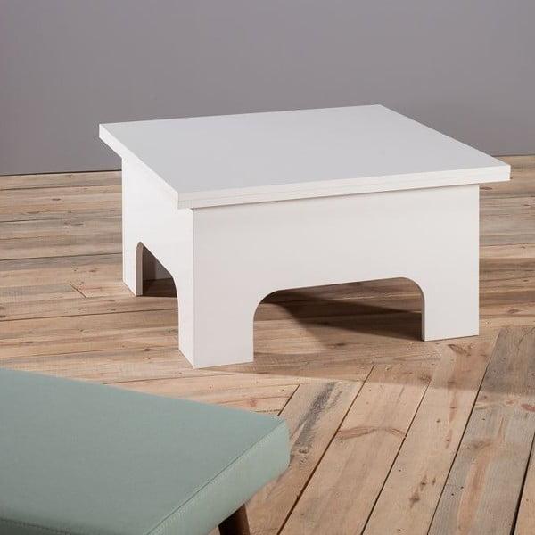 Konferenční stolek Lizbon White