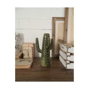 Zelená keramická soška Orchidea Milano Cactus Summer In Italy, výška31cm