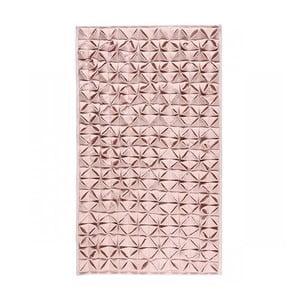 Koupelnová předložka Origami 60x100 cm, růžová