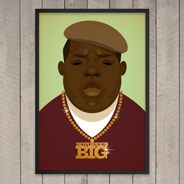 Plakát Biggie, 29,7x42 cm