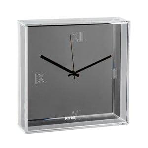 Nástěnné hodiny s chromovou metalízou Kartell Tic Tac