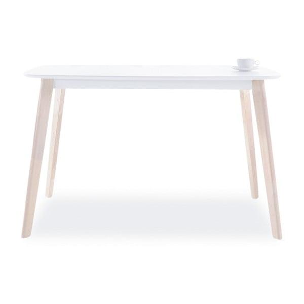 Jídelní stůl s nohama z kaučukového dřeva Signal Tibi, délka90cm