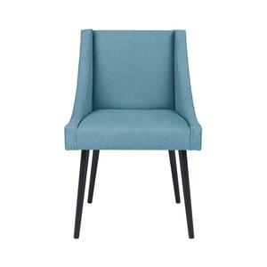 Světle modrá židle Micadoni Home Massimo