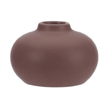 Suport din ceramică pentru lumânare A Simple Mess Telma, ⌀ 8,5 cm, roșu închis de la A Simple Mess