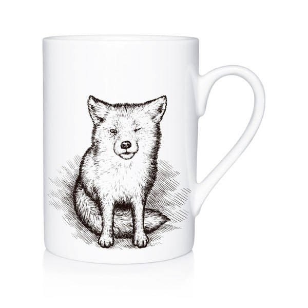 Porcelánový hrnek We Love HomeLittle Fox, 300 ml