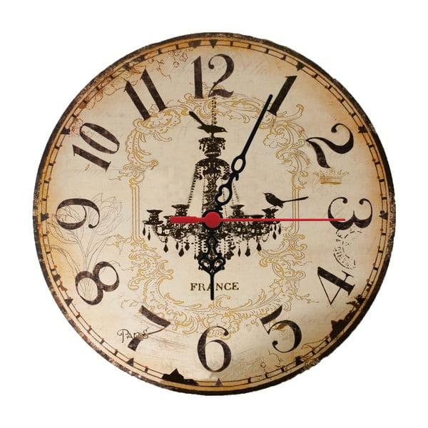 Nástěnné hodiny Chandelier, 30 cm