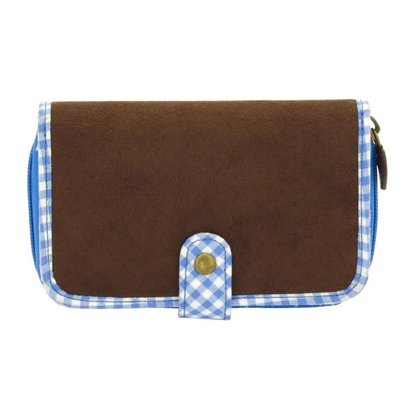 Dámská peněženka Bavaria Fitted Brown/Blue