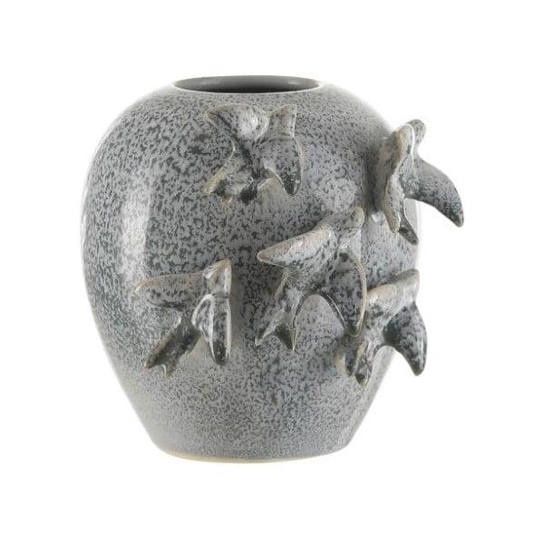 Vază din ceramică A Simple Mess Niort Ballad Blue, ⌀ 12 cm