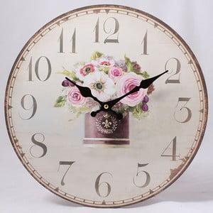 Dřevěné hodiny Paris