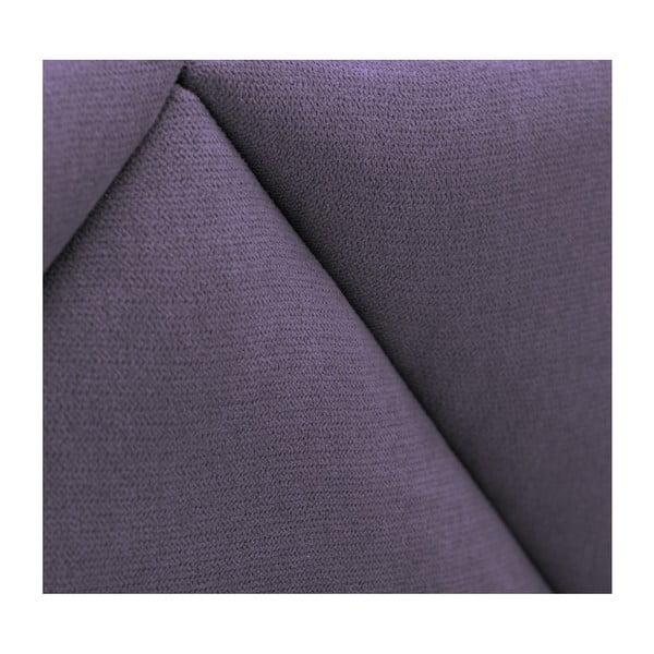 Levandulově fialové čelo postele HARPER MAISON Annika, 180 x 120 cm