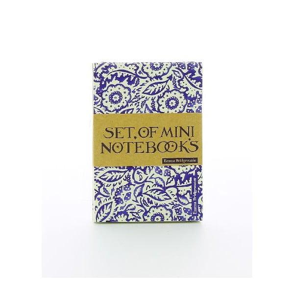 Sada 3 malých zápisníků Blueprint Collections Emma Bridgewater