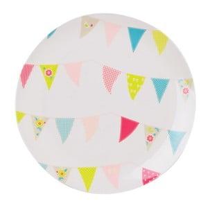 Melaminový talíř Summer Fette, 28 cm