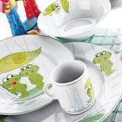 Dětská jídelní sada Žabák, 5 ks