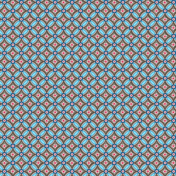 Tapeta Pip Studio Geometric, 0,52x10 m, hnědomodrá