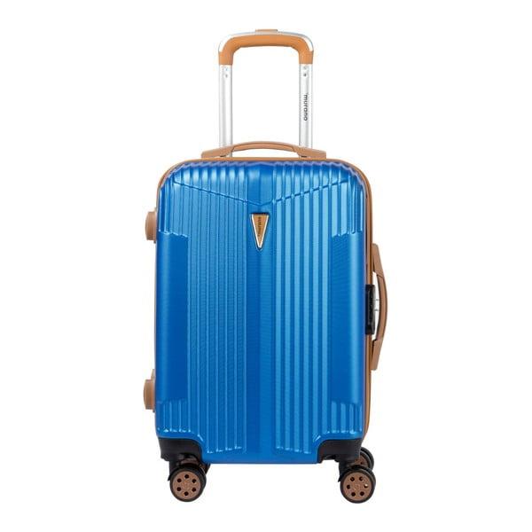 Sada 3 modrých kufrů na kolečkách Murano Europa