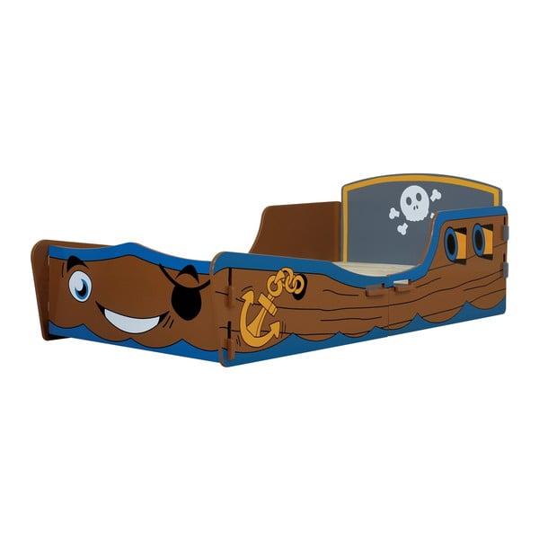 Dětská postel Pirate Junior, 140x70 cm
