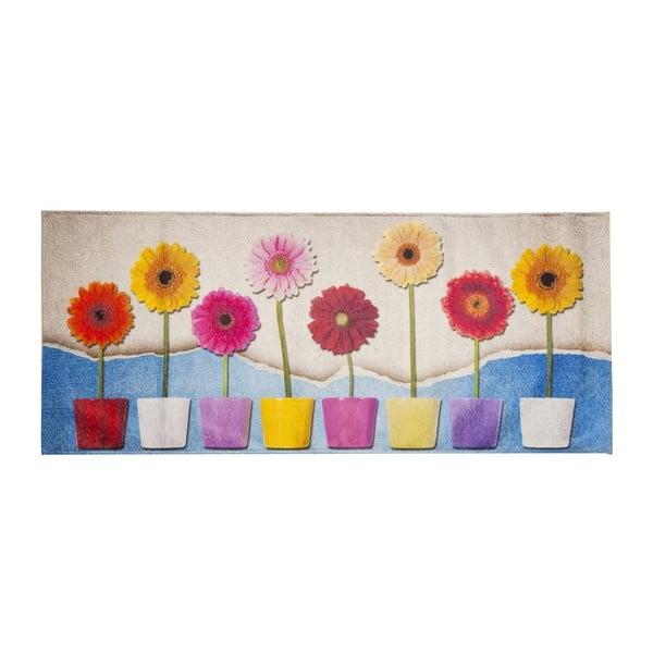 Vysoce odolný kuchyňský koberec Webtappeti Spring, 60x300 cm