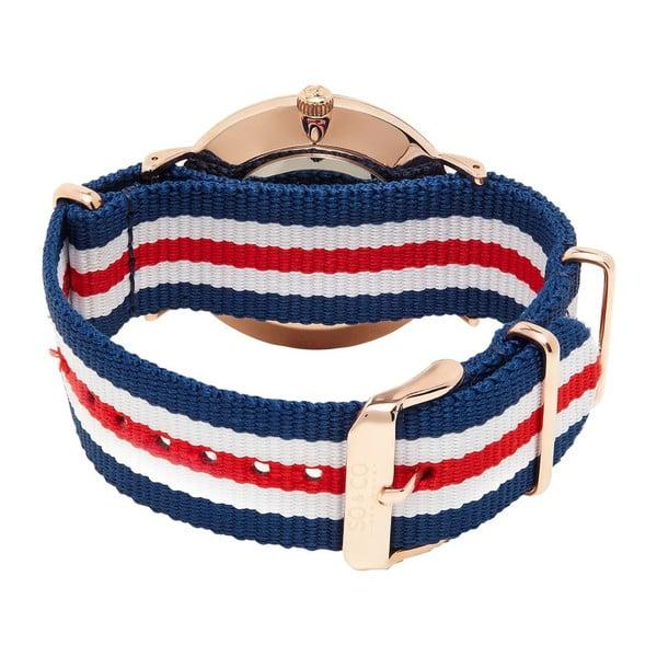 Pánské hodinky  Madison Stripe Red/White/Blue