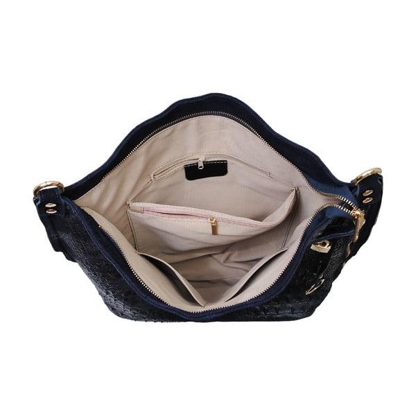Tmavě modrá kabelka z pravé kůže Andrea Cardone Edvige