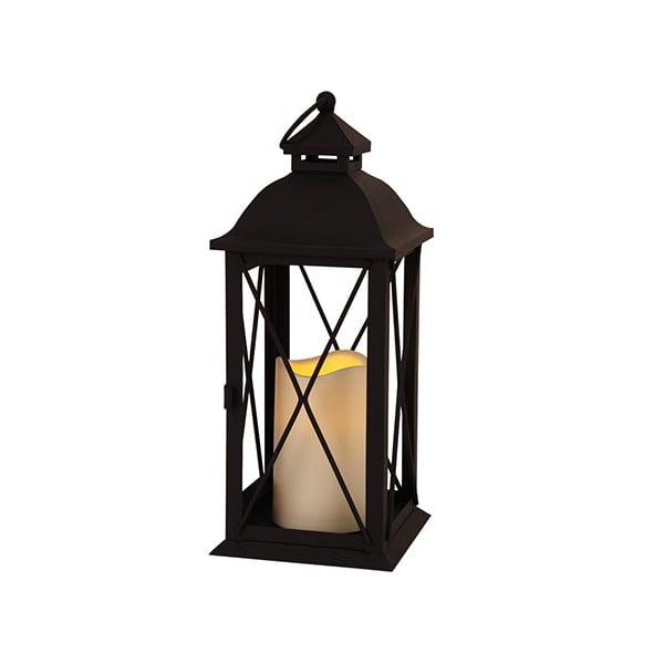Černá LED lucerna Best Season Dina