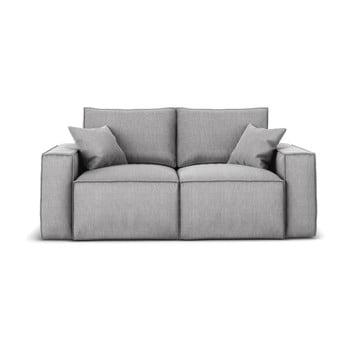 Canapea cu 2 locuri Cosmopolitan Design Miami, gri de la Cosmopolitan Design