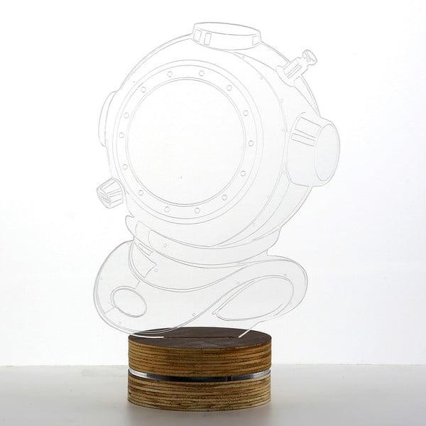 3D stolní lampa Diver