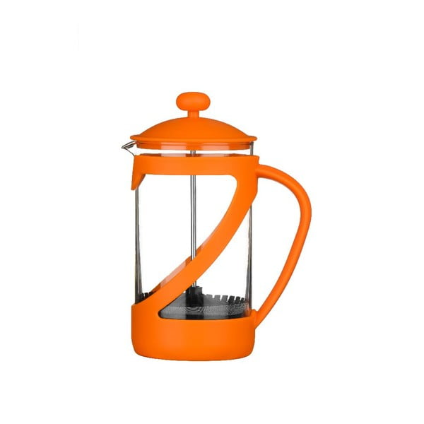 Moka konvice Cafetiere Orange, 600 ml