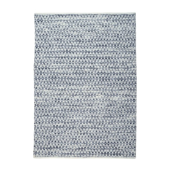 Vlněný koberec Bedford Blue, 160x230 cm