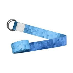 Popruh na jógu Yoga Design Lab Tribeca Blue, délka2,4 m
