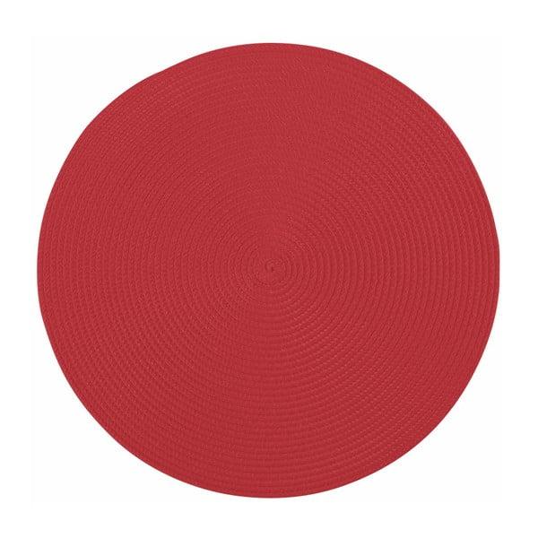 Suport rotund pentru farfurie Tiseco Home Studio Round, ø38cm, roșu