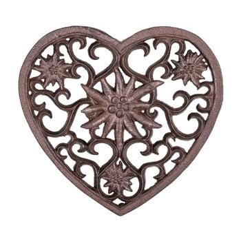 Suport în formă de inimă din fontă pentru recipiente fierbinți Antic Line de la Antic Line