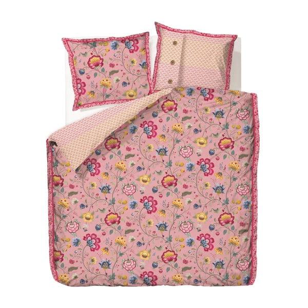 Povlečení Floral Fantasy Old Pink, 140x200 cm