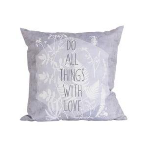 Polštář Maiko Do All Things With Love,45x45cm