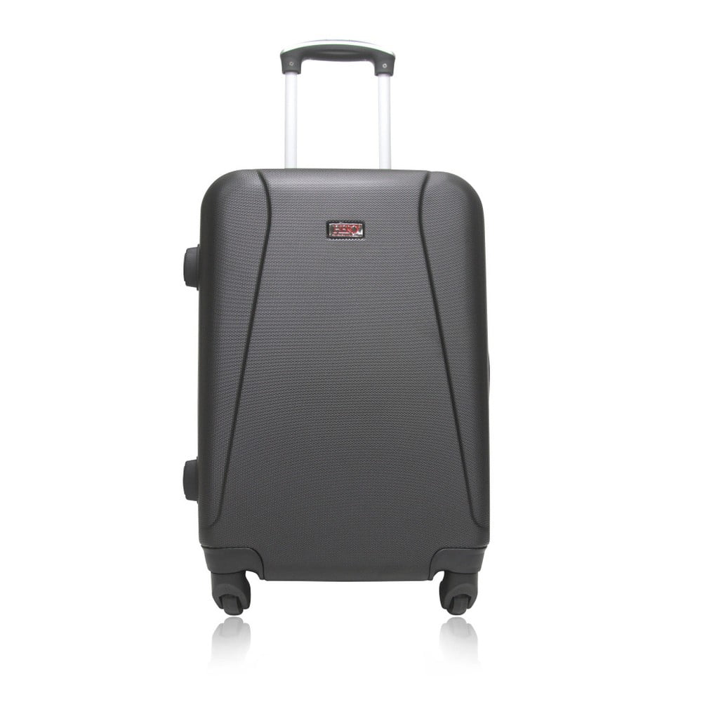 Šedý cestovní kufr na kolečkách Hero Tour, 91 l