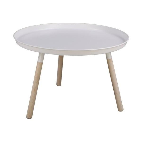 Bílý odkládací stolek Nørdifra Sticks, výška40,5cm