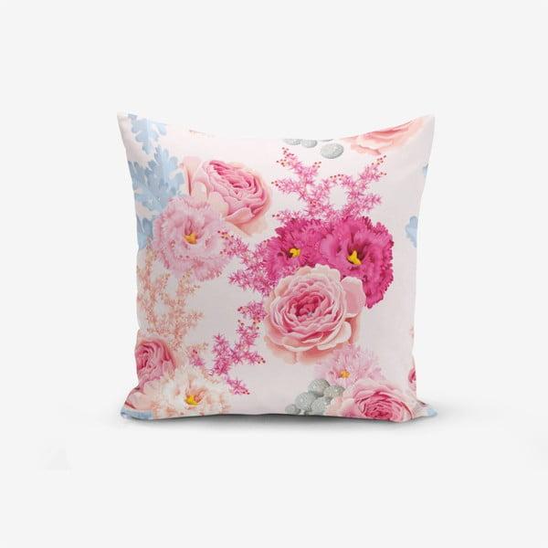 Povlak na polštář Minimalist Cushion Covers Flowers, 45x45cm