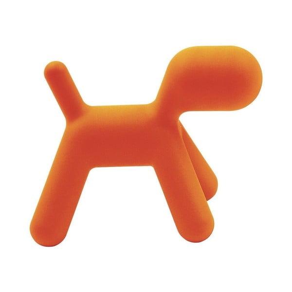 Oranžová stolička Magis Puppy, délka43 cm