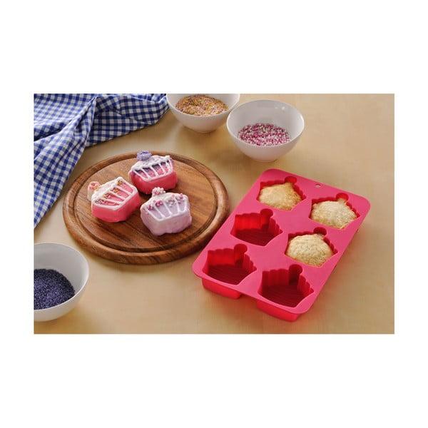 Sada formy, stěrky a podložky Premier Housewares Cupcake Baking Pink, 3ks