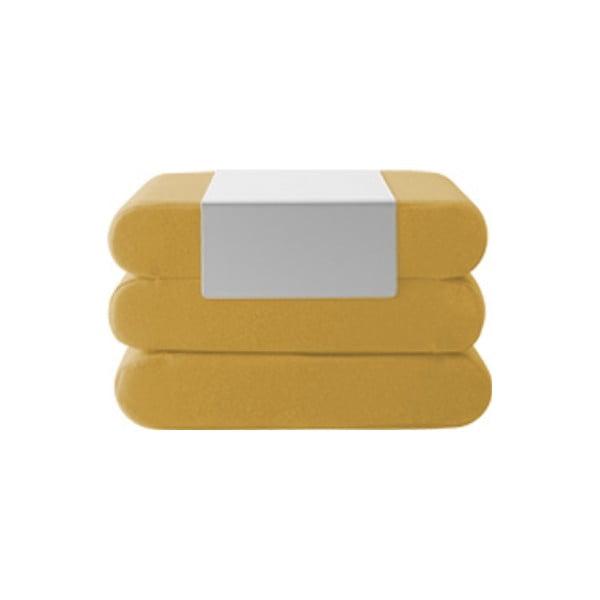 Bingo Vision Yellow sárga kinyitható puff - Softline
