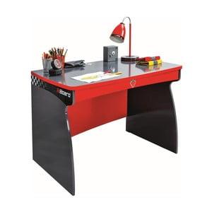 Červený pracovní stůl Champion Racer Study Desk