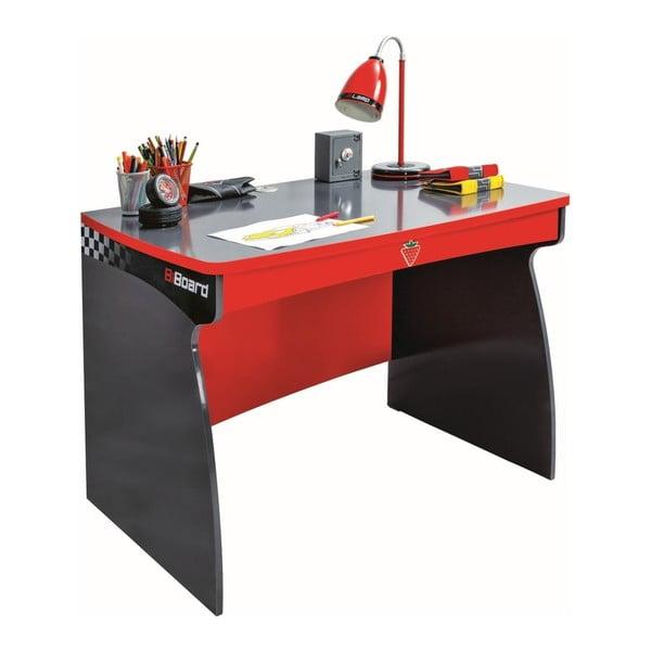 Champion Racer Study Desk piros íróasztal