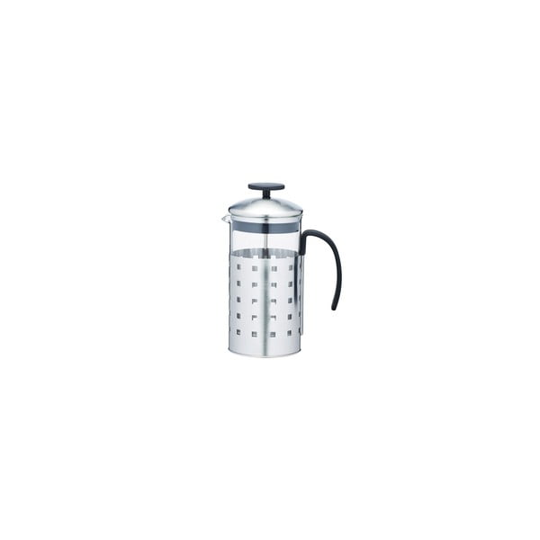French press Le'Xpress Steel 1000 ml, na 8 šálků