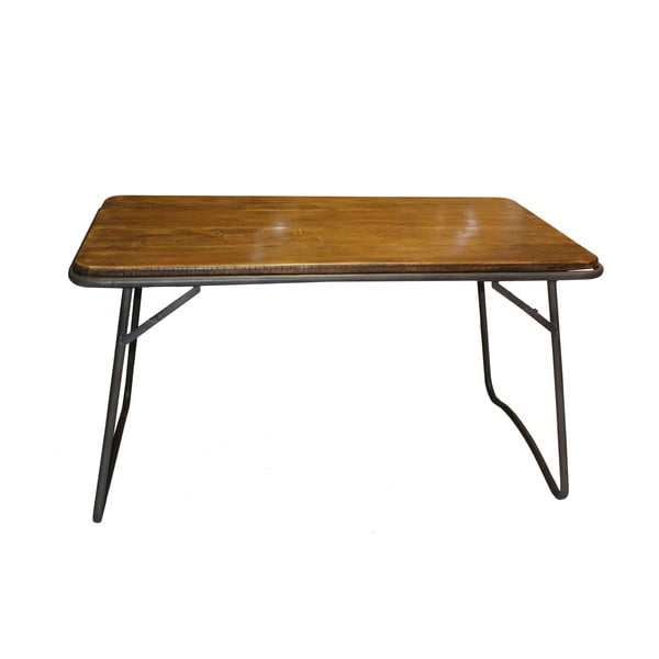 Dřevěný stůl Industrialis Iron