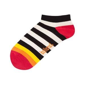 Kotníkové ponožky Zebra, velikost 41–46