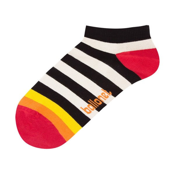 Kotníkové ponožky Zebra, velikost 36–40