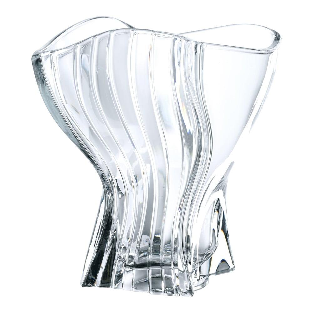 Váza z křišťálového skla Nachtmann Curve, výška 22 cm