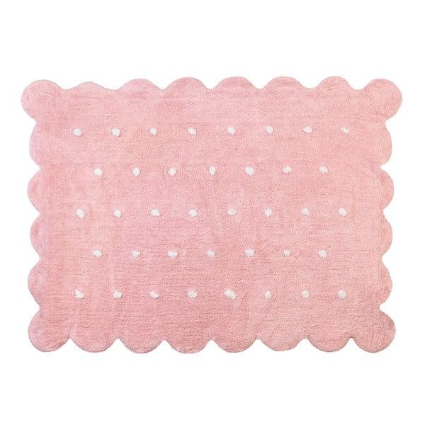 Koberec Cookie 160x120 cm, růžový