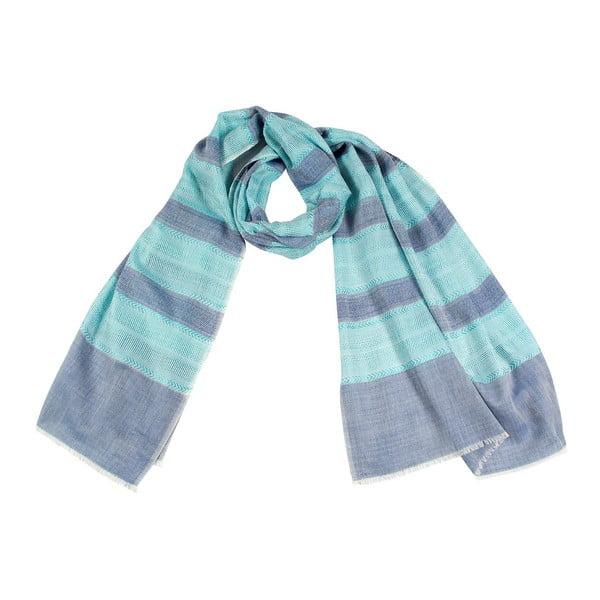 Šátek s příměsí hedvábí Shirin Sehan - Vivien Skyline