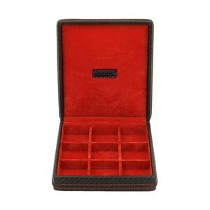 Box na manžetové knoflíčky Carbon Black