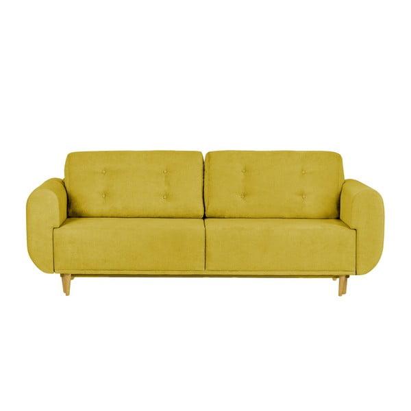 Žlutá dvoumístná pohovka Helga Interiors Copenhague